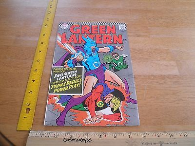 Green Lantern 45 comic 1960's Silver Age VG/F 12 cent Golden Age together cover