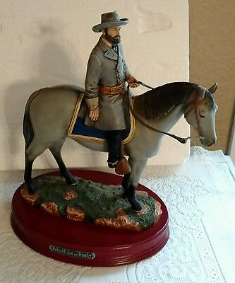 "Robert E. Lee on Traveler Civil War Numbered Sculpture Large 14"" x 12"""