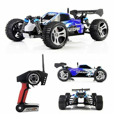 WLtoys A959 1/18 Scale 2.4G 4WD SUV RC Car Off-Road Buggy RTR Remote Control CA!
