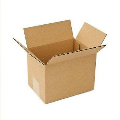 shipping boxes 25 Pack 7x7x4 Mailing Moving Box Cardboard Storage Carton Packing