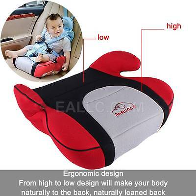 Safe Sturdy Car Booster Seat Cushions Baby Child Kid Children Fit 3 To 12 Years