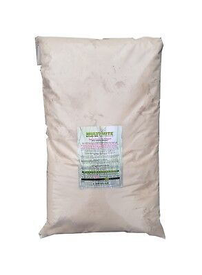 MULTI MITE® 10KG DIATOMACEOUS EARTH Feed Supplement Red Mite Worming DE Powder