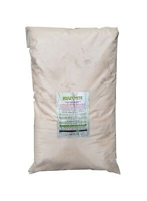 MULTI MITE® 10KG DIATOMACEOUS EARTH Red Mite Worming DE Powder Feed Supplement