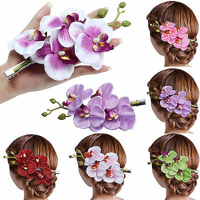 Flower Hairpin Brooch Wedding Bridal/Bridesmaid Party Accessories Hair Clip UP