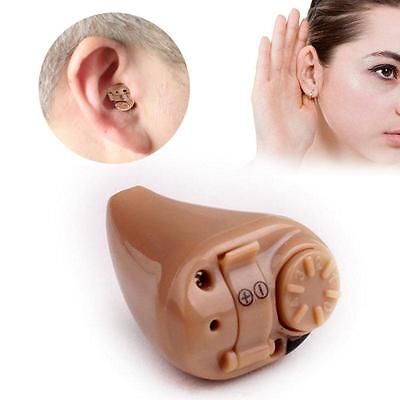 Super Mini Hearing Aid Aids Volume Sound Voice Amplifier Device Ear Care