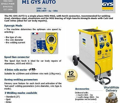 M1 Gys Auto Car Body Repair Mig Welding High Tensile Steel With Cusi Cuai Wire