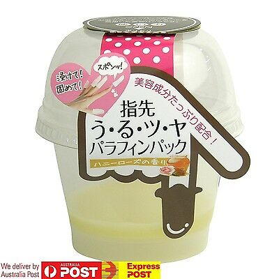 JAPAN Sosu Paraffin Wax Pack HONEY ROSE Nails Cuticles [EASY] NO DEVICE REQUIRED