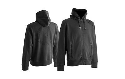 Trakker NEW Vortex Grey Full Zipped Hoodie Carp Fishing Hoody *All Sizes*