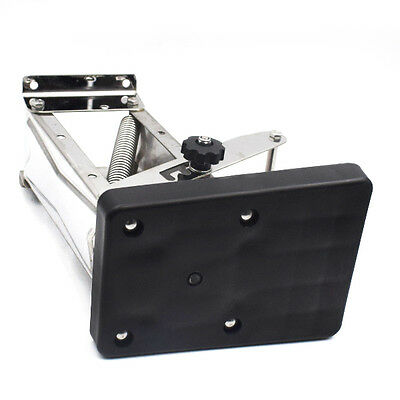 Black Heavy Duty Stainless Steel Outboard Motor Bracket Up To 25hp CA STOCKING