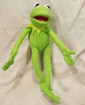 Vintage Applause Kermit The Frog Poseable plush - lot a2a