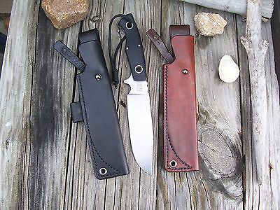 Boker Plus Vox Rold LF Custom Leather Bushcraft Sheath