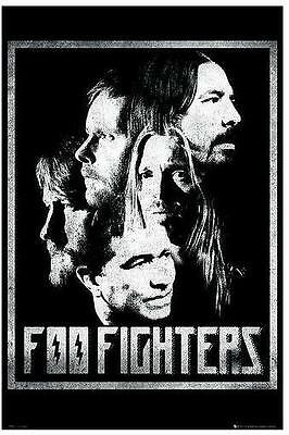 "Foo Fighters Poster ""band Collage"""