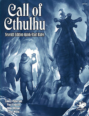 Call of Cthulhu RPG: 7th Edition - Quick-Start Rules, Roleplay, Englisch, NEU