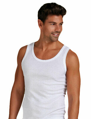 3 Canotte Uomo Infinity Intimo - A Spalla Larga In Cotone Made In Italty - 1002