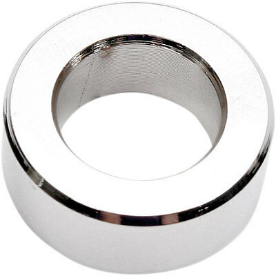 """Drag Specialties .500"""" Chrome Outer 3/4""""D Axle Spacer for Harley Motorcycles"""
