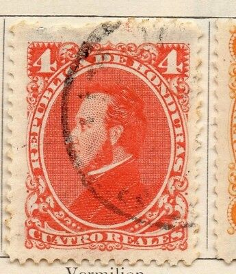 Honduras 1878 Early Issue Fine Used 4c. 138844