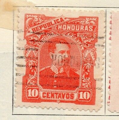 Honduras 1891 Early Issue Fine Used 10c. 138860