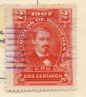 Honduras 1907 Early Issue Fine Used 2c. 138915