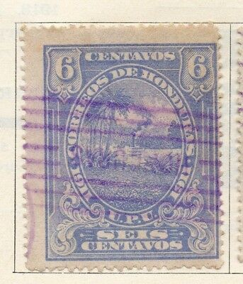 Honduras 1911 Early Issue Fine Used 6c. 138925