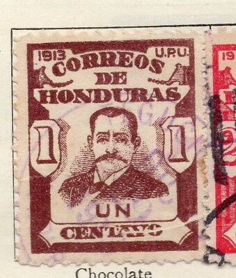 Honduras 1913 Early Issue Fine Used 1c. 138934