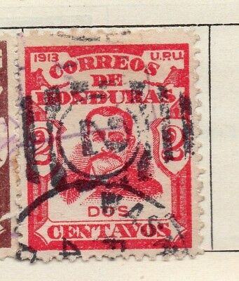 Honduras 1913 Early Issue Fine Used 2c. 138935