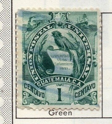 Guatemala 1886-1902 Early Issue Fine Used 1c. 138966