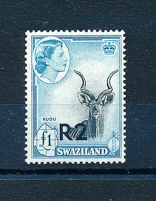 SWAZILAND 1961 DEFINITIVES SG77 2r. on £1 MNH