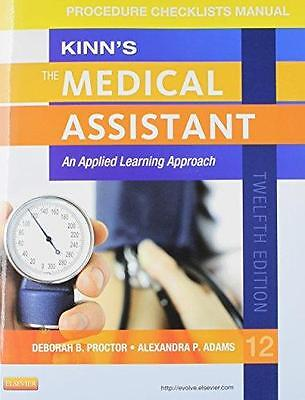 Kinn's The Medical Assistant An Applied Learning Approach - Procedure Checklists