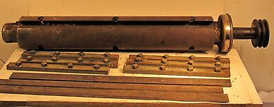 """Delta Rockwell 18"""" Wedge Bed Planer Cutterhead With The Knives & Gibs"""