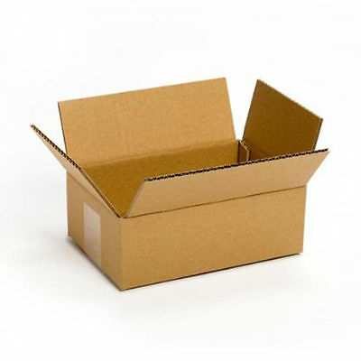 25 shipping boxes 8x6x4 Mailing Moving Box Cardboard Storage Carton Packing