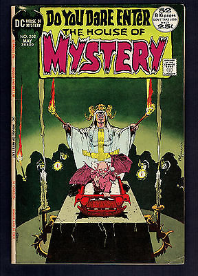 1972 DC House of Mystery #202 VG+ Gold Key Ripley's Believe it or Not #36 VG+