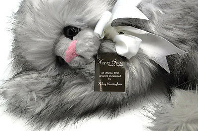 "Kaycee Bears ""aramis"" Cat Bear By Kelsey Cunningham - Now Retired Ltd Edition"