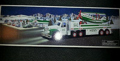 2002 Hess Toy Truck And Airplane Mib