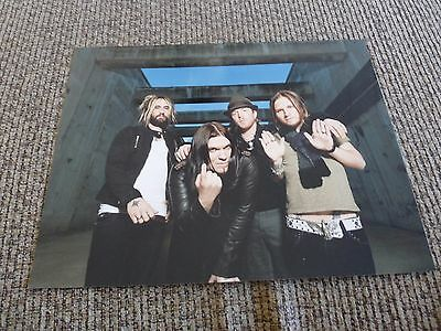 Shinedown Band 11x14 Promo Color Music Picture Photo #2
