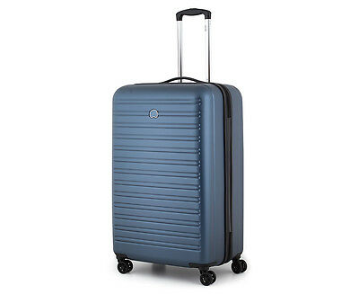 Delsey Segur 4-Double Wheel 78cm Hardcase - Blue