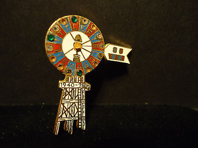 Vintage 1975 Littlefield Texas Oil Well 35 years  Lapel Hat Pin
