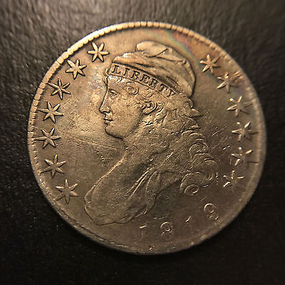 1819 Capped Bust Half Dollar XF Extremely Fine Type Coin 50c