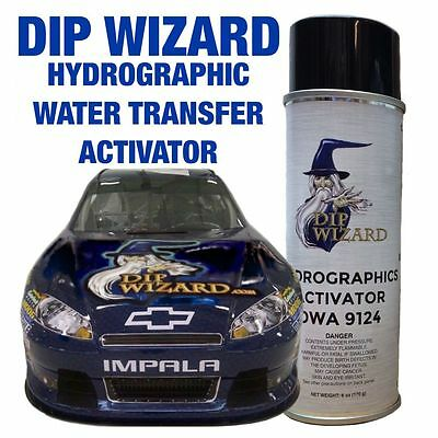 6z DIP WIZARD AEROSOL SPRAY CAN HYDROGRAPHIC HYDRO WATER TRANSFER FILM ACTIVATOR