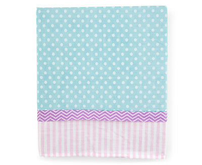 Little Haven Piccadilly Cot Valance - Pink/Multi
