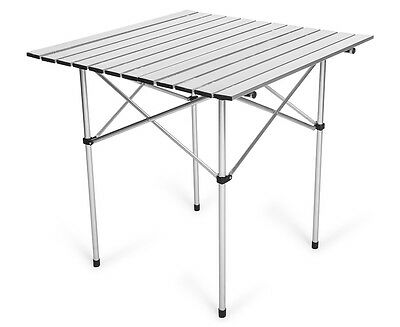 Aluminum Folding Table - Silver