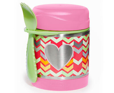Skip Hop Forget Me Not Insulated Food Jar - Pink Heart