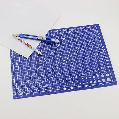 Paper Board Fabric Leather Card Grid Lines A4 Scale Plate Cutting Mat