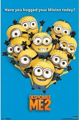 Despicable Me 2 Minions Poster 57cm x 86cm  New Licensed