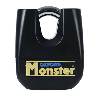 Oxford Monster Motorbike Motorcycle Ultra Strong Padlock Double Locking OF31