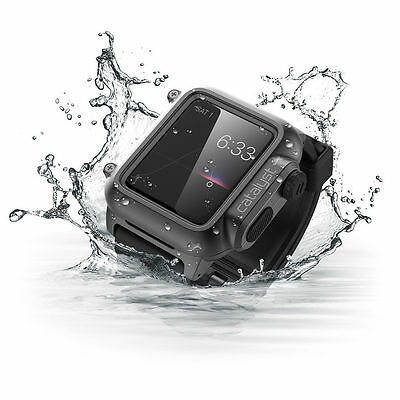 KPh06m Original Safety swim jogging diving Waterproof case for Apple Smart Watch