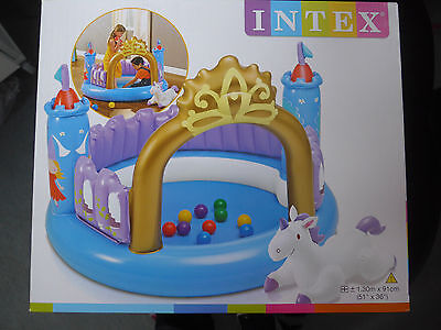 INTEX 48669 Children Castle Lock castle Ball pit Magic castle NEW