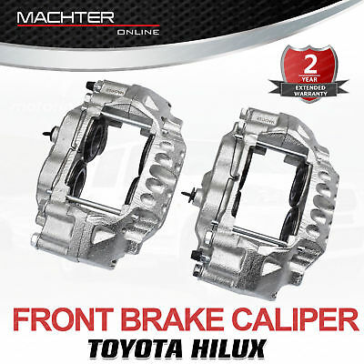 Left + Right Front Disc Brake Caliper Assembly Hilux 4x4 4wd LN167R LN172R