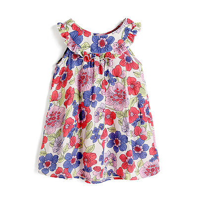 Floral Toddler Kids Baby Girls Dress Princess Party Pageant Holiday Dresses