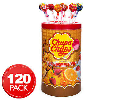 The Best Of Chupa Chups Lollipops 120pk