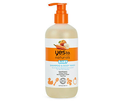 Yes To Naturals Baby Shampoo & Body Wash 355mL